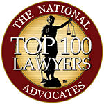 Advocates Top 100 Member Seal